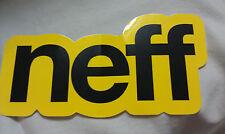 "NEFF, SKATEBOARD, SNOWBOARD, Cool, Sticker, 7"" x 3-1/2"""
