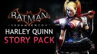 Batman Arkham Knight: Harley Quinn Story Pack DLC [PlayStation 4 PS4] NEW