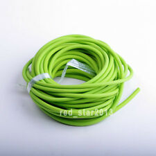Outdoor Tube Φ5mm*2.5m Replacement  for Hunting Sling Shot Slings  greenRubber
