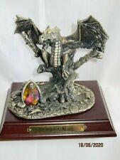 MYTH & MAGIC - DRAGON OF DARKNESS - 3322 - PEWTER FIGURE - TUDOR MINT