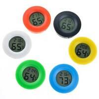 Mini termometro igrometro LCD digitale temperatura umidità tester casa ROTONDO
