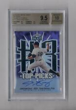 JONATHAN GRAY 2013 LEAF METAL PRISMATIC PURPLE AUTO RC #22/25 BGS 9.5 10