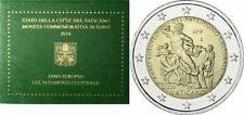 2 € FDC Vaticano 2018 ~ Ватикан ~Vatikan <<Anno Europeo Patrimonio Culturale>>.,