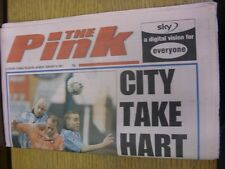 24/02/2001 Coventry Evening Telegraph The Pink: Main Headline Reads: City Take H