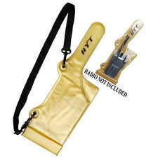 ARMOR CASE Two Way Radio Leather Holster Handsfree Case RP6500 rp7500 TC-610 Ect