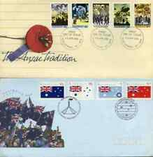 Accumulation of First Day Covers from 1977 till 1990's. Face Value $700.00.