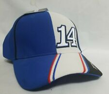 New With Tags #14 Tony Stewart Haas Racing NASCAR Chase Authentics Hat Blue Cap