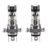2pcs H4 100W 2828 20SMD LED Hochleistung Auto Fahren DRL Licht Nebel Glühbirnen
