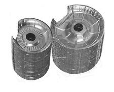 Electric Stove Bib Disposable Foil Burner Liner -Pack Of 52 -26 Large, 26 Small