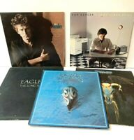 Eagles + Don Henley Lot of 5 Vinyl Record Albums Long Run Greatest Hits Nights
