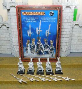 HIGH ELF PHOENIX GUARD - Warhammer Metal Figure(s)