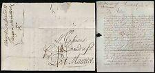 FRANCE 1793 REVOLUTIONARY CALENDAR...LETTER to PORT MAURICE