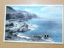1958 Postcard- THE BRIGG, FILEY, Yorkshire, No. F.0203 + Stamp