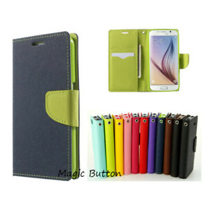New Soft Gel Card Slot Case PU Leather Flip Wallet Cover for Samsung Galaxy S5