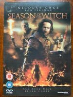 Season of the Witch DVD 2010 Medieval Horror Movie with Lenticular Slipcover