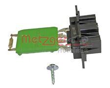 METZGER Widerstand Innenraumgebläse 0917108 für OPEL FIAT PUNTO ALFA ABARTH ADAM