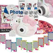 Fujifilm Instax Mini 8 Hello Kitty Fuji Instant Camera Pink + 10 Prints Kit