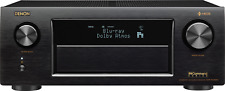 Denon AVR-X4400H Black 9.2 Channel Network A/V Receiver - OPEN BOX - PERFECT