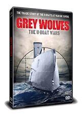 Grey Wolves The U-Boat Wars - Tragic Story of U-Boats at War 3 DVD Set WW1 & WW2