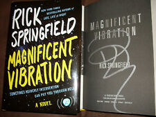 General Hospital Rick Springfield signed in silver Magnificient Vibration 1/1 HC