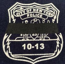 NYPD New York City Police Department T-Shirt Sz M 10-13
