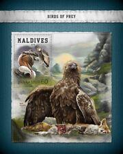 Maldives  2018  Birds of prey MS  S201806