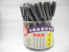 50pcs Zebra calligraphy brush pen Fine NIB draw art water based Black(Japan)