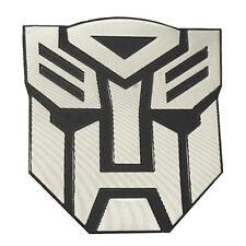 Transformer 3D Car Decal Emblem Autobot Bot Robot Optimus Prime Symbol Grooves