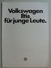 Prospekt Volkswagen VW Iltis für junge Leute, 5.1979, 4 Seiten