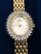 Seiko Watch with Crystals,Gold on Gold Camrose & Kross - Jacqueline Kennedy Jbk