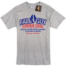 Fall Guy Stuntman Inspired Mens T-shirt Tee - Retro USA 80's TV NEW