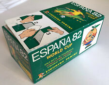 PANINI BOITE VIDE ORIGINAL EMPTY DISPLAY BOX WC ESPANA 82 VACIO VUOTO LEER