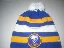 ADIDAS BUFFALO SABRES KNIT BEANIE WINTER CLASSIC HAT CAP POM SKULLY NHL  HOCKEY c31506490