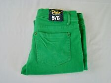 Delia's Taylor Green Crop Jean Stretch Women's NEW NWT - Size 5/6
