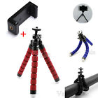 Mini Flexible Octopus Camera Tripod + Stand Clip Mount Holder For Samsung iPhone