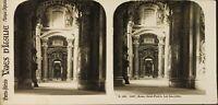 Italia Roma Basilique Saint-Pierre Interno, Foto Stereo Analogica PL60L1150