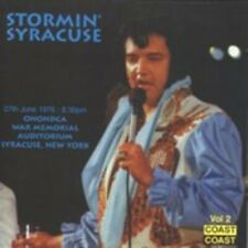 ELVIS PRESLEY - STORMIN' SYRACUSE -  FIRST PRESS ORIGINAL CD