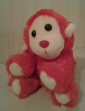 "2005 Red Monkey Plush 7"" stuffed animal Sound Whistles"