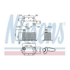 Fits BMW 5 Series E60 530d Genuine OE Quality Nissens Gearbox Oil Cooler