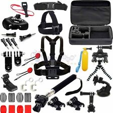 44in1 Head Chest Mount Floating Monopod Accessories Kit For GoPro 2 3 4 5 Camera