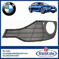 BMW SERIE 3 F30 - F31 DAL 2012 GRIGLIA PARAURTI CON FORO FENDINEBBIA SINISTRA SX