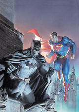 JIM LEE rare LEGENDARY HEROES paper giclee ALEX ROSS paints SIGNED 2x art COA!!