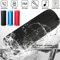 VTIN Portable Wireless Bluetooth Speaker USB/TF/FM Radio Bass Outdoor Waterproof