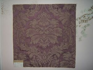 Highland Court, Catlin, Traditional Damask Brocade, Remnants, Various Colors