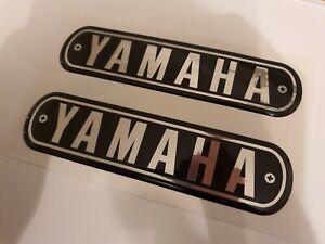 YAMAHA YR5 350, YDS7 250 Self-Adhesive Tank Badge/Resin Reproduction (SET OF 2)
