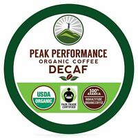 Peak Performance High Altitude Organic DECAF Coffee Pods. Body  Mind Coffee For