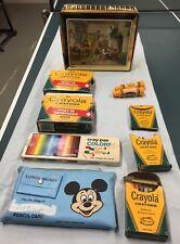 Vintage Lot Crayola Crayons Crayons Crayon Sharpener