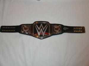 BRAY WYATT SIGNED FS WWE ADULT WORLD HEAVYWEIGHT CHAMPIONSHIP TITLE BELT JSA COA