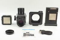 【NEAR MINT+++】 Hasselblad 503CX w/ CF T* 80mm f/2.8 A12 II Film Back From JAPAN