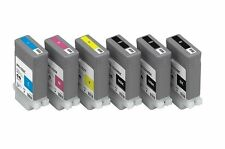 6 Ink Set for Canon ImagePROGRAF iPF510 iPF605 iPF710 iPF750 / PFI-102 Cartridge